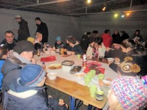 Weihnachtliche Fackelwanderung @ Grillhalle der DJK   Aschaffenburg   Bayern   Deutschland