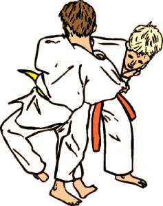 Judo Clipart