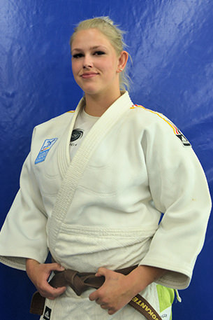 Anja Gimbel 1. Kyu, +70 kg