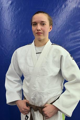 Leona Estenfelder 1. Kyu, -63 kg