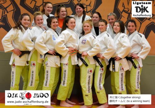 DJK Aschaffenburg - Landesliga Damen 2017