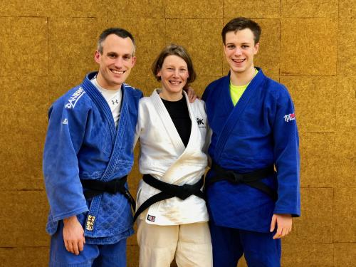 Carsten Sann, Andrea Schlauersbach und Jonas Ludwig